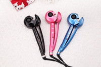 Wholesale 2014 Automatic Professional hair curler roller curling irons Pro perfect Ceramic curl