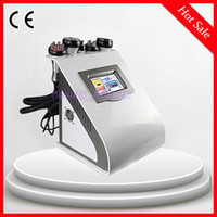 Wholesale 40Khz Ultrasonic Cavitation RF Slimming Machine Microcurrent Facial Radio Frequency Slimming Beauty Salon Equipment