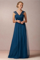 Wholesale A Line Sweetheart Bow Pleats Royal Blue Chiffon Net Mom Dress Zipper Mother of the Bride Dresses Wedding Party For Special Occasion