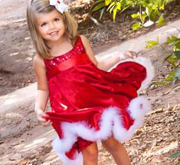 Wholesale The new Christmas sequined dresses of the girls Sleeveless dress bitter fleabane bitter skirt girl dress pc melee LJ