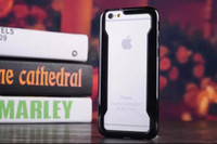 double color TPU bumper case for iphone 6
