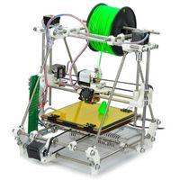 Wholesale Open Heacent RepRap Prusa Mendel DP01 DP02 DP03 DP04 D Printer DIY Full Assembly Kit mm Nozzle Black White
