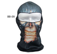 Wholesale Brand New Outdoor Print Face Mask Cycling Bike Hiking Navy Seal Masks Motorcycle Windproof Party Masks Breathable Skull Hood Caps Masks