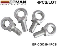 Cheap EPMAN Set Of 4pcs Competition Harness Eye Bolt size:7 16 for TAKATA,SABLET ECT BRAND HARNESS RACING SEAT BELTS EP-CGQ19-4PCS