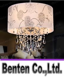 Wholesale LLFA7130 Free After the LED crystal chandelier modern minimalist restaurant round dining room table lamp lighting fixtures room bedroom den