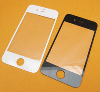 Wholesale New LCD Outer Glass Lens Top Front Glass Cover for iPhone G s