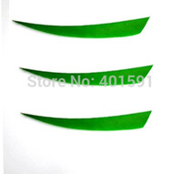 Wholesale green peltate inch Turkey Feather archery DIY fletching hunting wood arrows shaft for lbs recurve bow