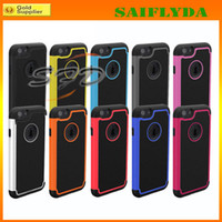 For Apple iPhone ballistic plastic - Grain Skin Rubber Ballistic Case Heavy Duty Tough Hybrid Rubber Silicone TPU Back Shell Shockproof for iPhone