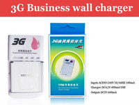 Cheap Business Universal 360 degree 3G Battery Charger With USB Port Output For Mobile Phone Black Free Shipping