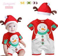 Toddler Baby Boys Girls Romper Infants Rompers Short Sleeve ...