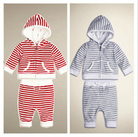 2014 New Arrivals Autumn Girls and Boys sets Hoodies + Trous...