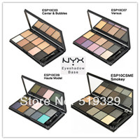 Wholesale Brand color styles NYX Cosmetics Eye Shadow contour palette Naked makeup eyeshadow palette