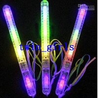 flashing toys - Hot LED Flashing light Colorful STICK glow sticks Halloween party accessory Christmas Toy