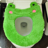 Cheap Meng domesticated hen stuffed cartoon toilet mat toilet seat cover toilet potty pad can be used repeatedly