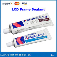 Wholesale Backlit LCD fit into the anti UV glue special glue seal the border LCD frame waterproof sealant heat