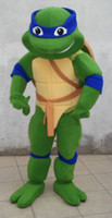 Wholesale High quality adult size Teenage Mutant Ninja Turtle Mascot Costume Adult Character Mascot Costume