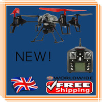 Wholesale WLtoys V959 RC Quadcopter G Axis GYRO UFO CH Drone RC Helicopter RC Aircraft Hexcopter With Camera LED Lights Mini Bug Toys