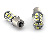 ba15s led bulbs - NEW BA15S car LED bulb SMD V Cool White high quality