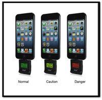 Cheap Free Shipping 10pcs lot Wholesale Ipega Digital Breath Alcohol Tester Analyser For iPhone 5 5S 5C iPod iPad 4 iPAD Mini