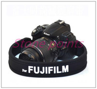 Wholesale 2015 Special Offer Neck Black Special High Elastic Damping Foam Dslr Camera Strap for Fuji Shoulder