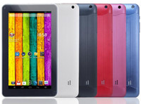 Wholesale 9 Inch Allwinner A33 Quad core Dual camera Tablet PC Android MB Ram GB Rom Bluetooth Wif capatity screen
