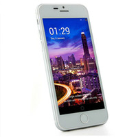 Wholesale Cell Phone Quad core MTK6582 Inch I6 Android RAM GB ROM GB RAM Real MB ROM GB G MP
