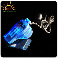Wholesale Flash whistle Luminous whistle Supplies the Christmas party Christmas present