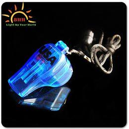 Wholesale Flash whistle Luminous whistle Supplies the Christmas party Christmas present
