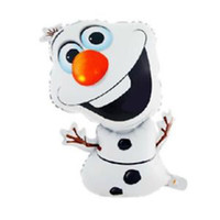 snowman decoration - Olaf the Snowman Balloon Birthday Party Decoration X43CM