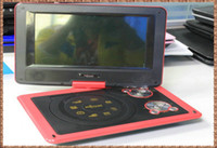 Portable portable dvd player tv - Inch Portable DVD player TV Tuner FM in Card Reader High resolution Colorful TFT LCD Swivel Screen Beautiful Red Color
