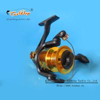 Wholesale CS Teeway Brand Metal Spinning Fishing Reels Carp Ice Fishing Gear Real BB Spool fishing tackle