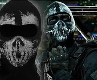 Wholesale Cool Skull Face Mask For Halloween Party Ghost Call of Duty biker Mask
