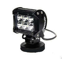 led mining light - 18W LED Car Light Inch W Cree lm IP67 W LED Light Bar Flood Spot Pencil Beam Offroad Jeep Truck Car Mining Boat LED Work Light