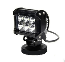 Wholesale 18W LED Car Light Inch W Cree lm IP67 W LED Light Bar Flood Spot Pencil Beam Offroad Jeep Truck Car Mining Boat LED Work Light