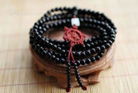 Beaded, Strands sandalwood beads - 216pc Tibetan Buddha Bead Sandalwood Prayer Bead Mala Buddhist bracelet necklace