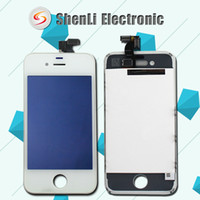 Wholesale Original LCD Display Grade A no dead pixels For iPhone S LCD Touch Screen Digitizer Flex Complete Assembly