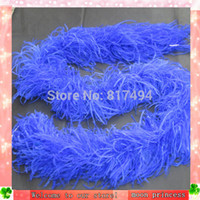 ostrich feather boas - Best Price Selling Top Quality Ostrich Feather Boa Long Feather Lady Scarf Party Boa m length ply ostrich feather boa