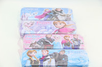Wholesale Frozen double pencil case Snow Romance stationery Pencil box school supplies gifts H