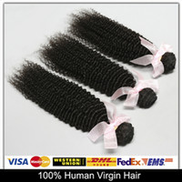 Cheap New Arrivals Peruvian Virgin Hair Kinky Curly 100% Human Hair Weave Hair Extensions 5pcs lot 6A Natural Color Can Be Dyed And Bleached