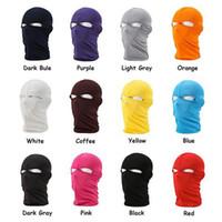 Wholesale Hot Unisex Outdoor Motorcycle Full Face Mask Lycra Balaclava Ski Neck Protection