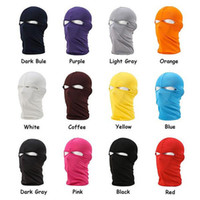 Wholesale Hot Unisex Quick Dry Outdoor Motorcycle Hunting Full Face Mask Lycra Balaclava Ski Neck Protection Headwear