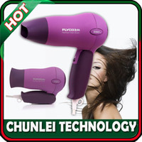Wholesale FLYCO Purple Household W Cool Shot Function Flodable Handle Speed Heat Quiet Design Hairdryer Hair Dryer