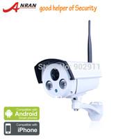 Cheap AnRan HD 1080P 2MP High Resolution Wireless WIFI Network IP Sony Sensor 2 IR LEDS Night Vision Waterproof Security Camera