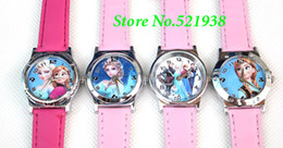 New Arrive 4 Pcs Frozen watches wrist watches children watch 4 differen designs free shipping