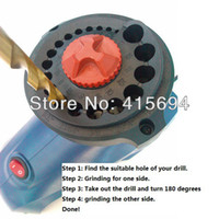 Wholesale Electric Drill Bits Sharpener Drill Grinder grinding drill sharpener drill sharpener for Novices