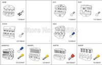 Wholesale 17pcs Die Sets for AM EM B1 EM B2 PNEUMATIC CRIMPING TOOLS CRIMPING PILER Crimping machine accessories
