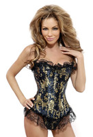 2014 Autumn Sexy Women' s Retro Corset Tops With Spanish...