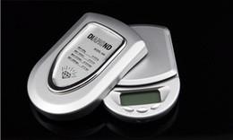 Бесплатная доставка 500g / 0.1g Мини ЖК- цифровой карманный ювелирных изделий золото Diamond Масштаб Gram, 100шт / Много