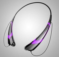 Wholesale HBS HBS Wireless Bluetooth Headset Apt x Stereo Headphone Universal Earphone For iPhone S Samsung epacket