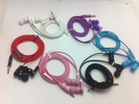 Wholesale metal plug Earphone in ear sport headphone noise cancel headphones beating earphones Stereo Headset